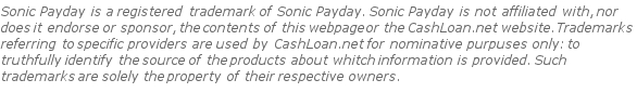 Sonic Payday